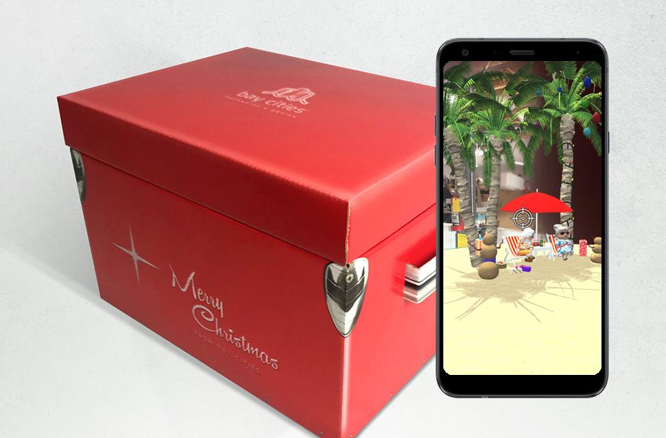 How a Magic Christmas Gift Box Comes to Life